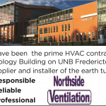 HVAC contractor UNB Kinesiology Building