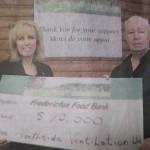 Donnie Sr. - Food Bank donation